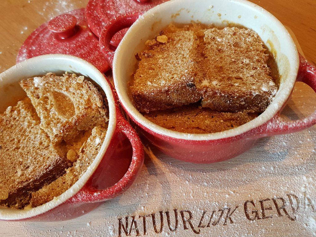 Gerda's ovenheerlijke broodpudding