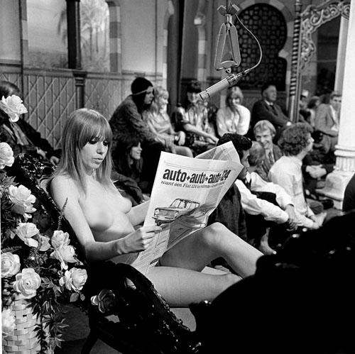 9 oktober 1967: een blote Phil Bloom op de Nederlandse televisie